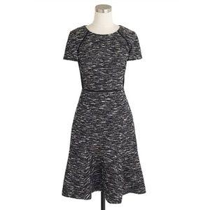 J. Crew   Tweed Fit & Flare Professional Dress
